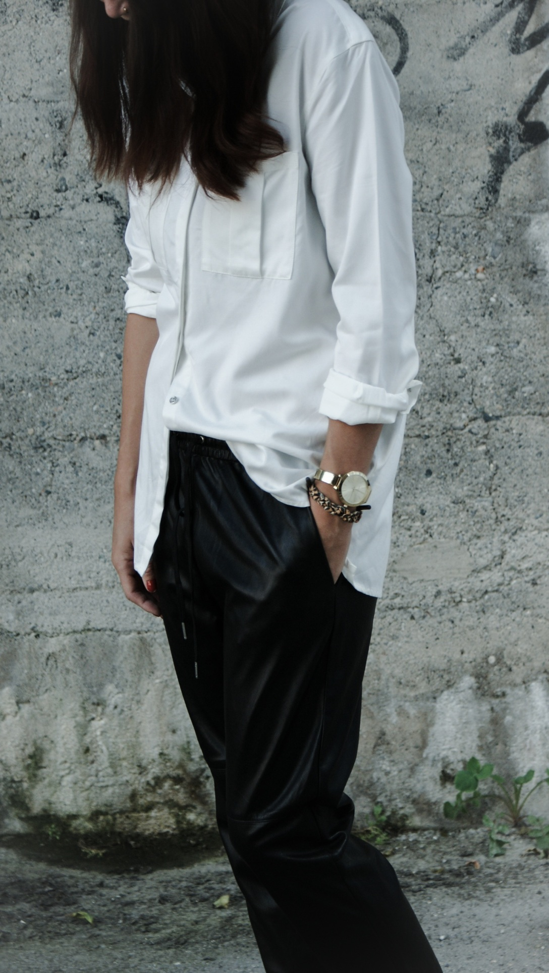 michael kors watch trend fashion streetstyle lookbook outfit zara