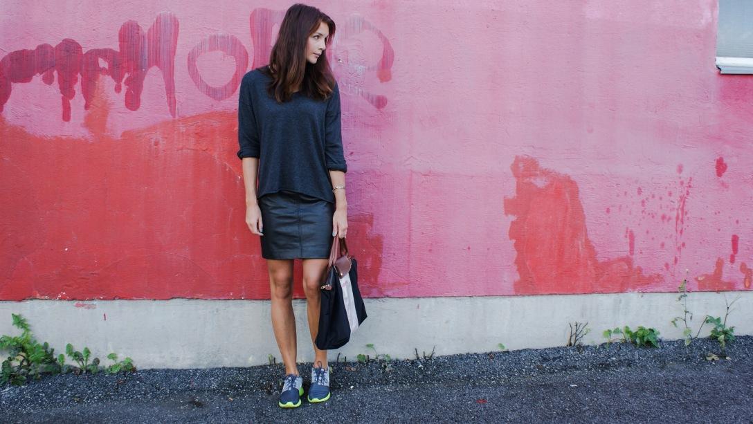 zara skirt longchamp fashion trend