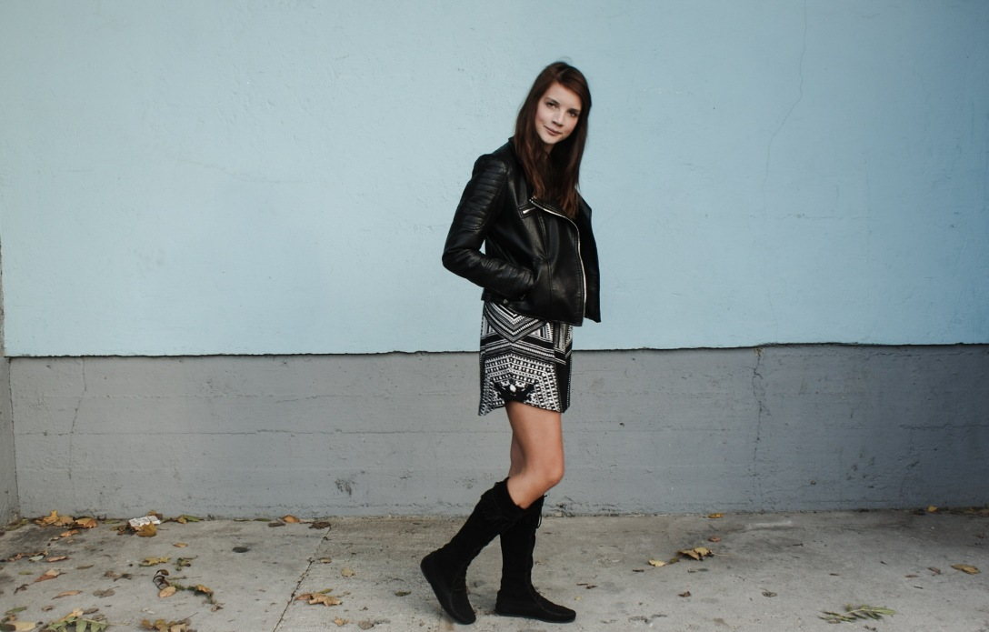 Fall outfit minnetonka h and m outfit