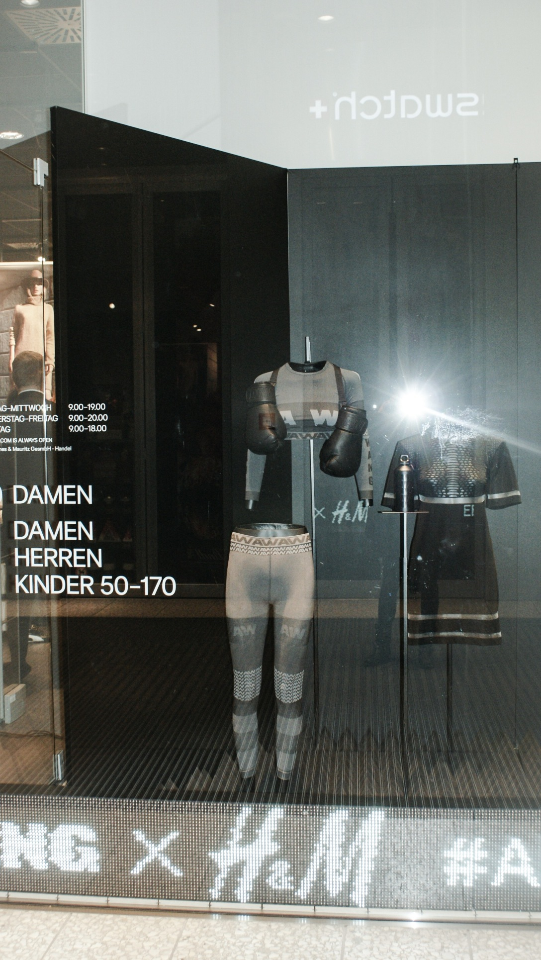 Alexander Wang h and m fashion