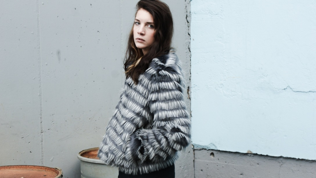 fake fur jacket winter inspiration