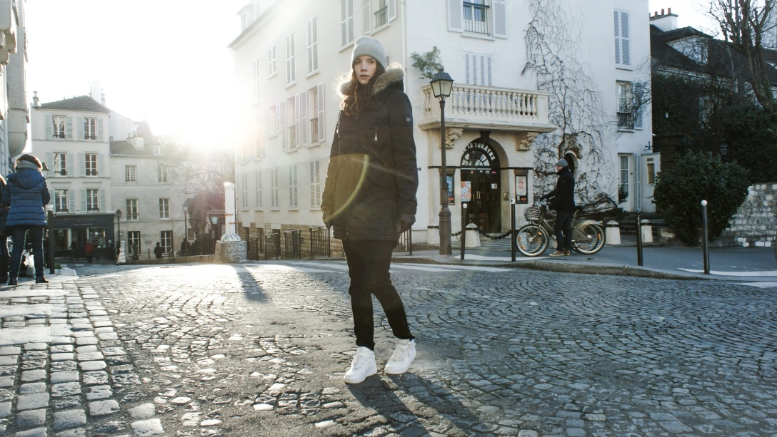 Outfit fashionblogger paris travel