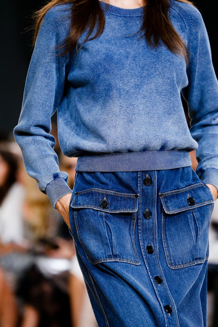 Cloe SS15 fashion inspiration denim