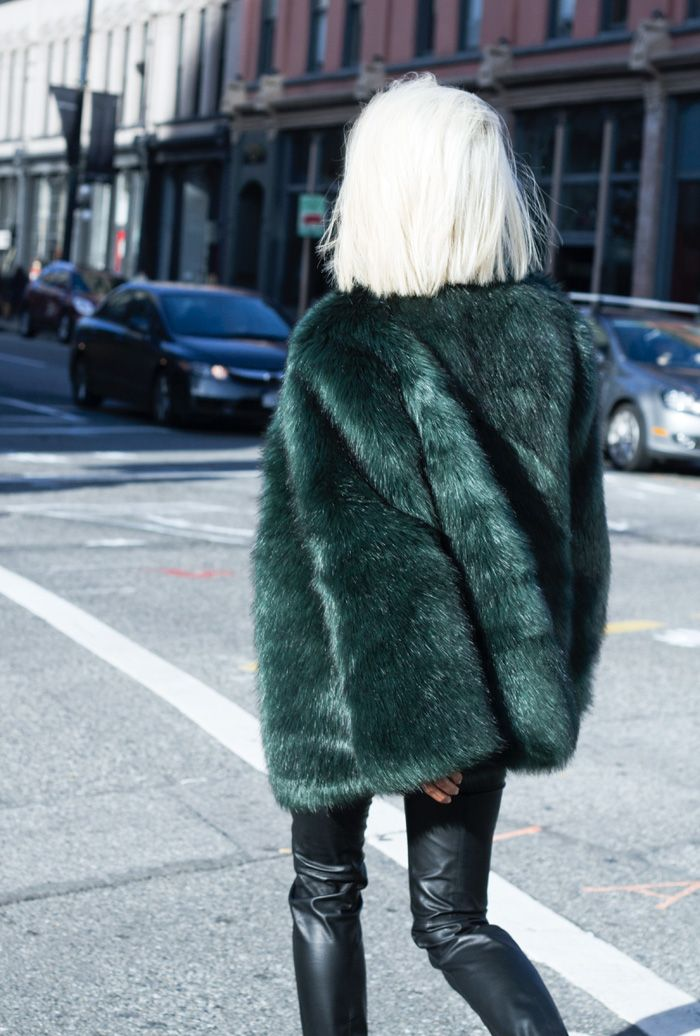 faux fur inspiration fashion