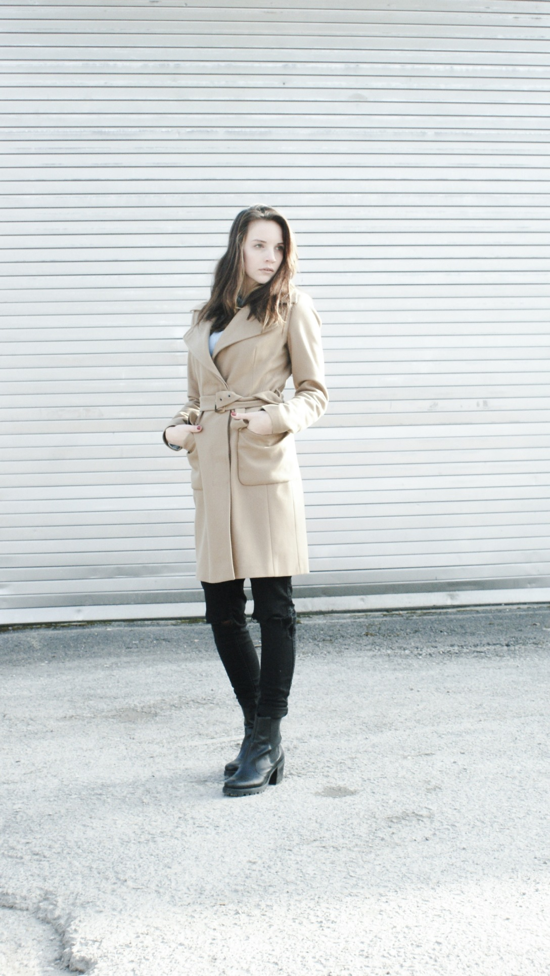 fashion inspiration camel coat